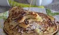 Pancakes citron et noix de coco
