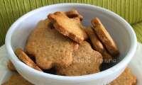 Les sablés miel et tonka à la farine complète