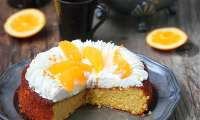 Gâteau à l'orange (sans gluten)