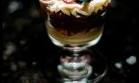 Verrines cheesecake au cappuccino