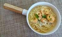 Crevettes sautées à la coriandre et curry