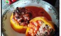 Punjene Paprike, poivrons farcis croates