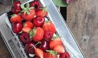Naked cake chocolat et fruits rouges