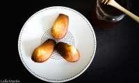 Madeleines au miel de Châtaignier d'Alsace