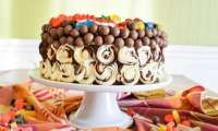 Layer cake géant au 3 chocolats spécial anniversaire d'enfant