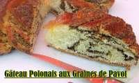 Gâteau Polonais aux Graines de Pavot