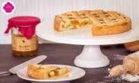 Tarte à la confiture de mirabelle avec une pâte sablée à la poudre d'amande