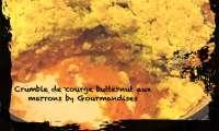 Crumble de butternut aux marrons