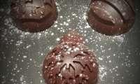 Coques de Noël au chocolat
