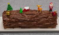 Bûche chocolat clémentines