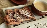 Gaufres aux amandes sans gluten