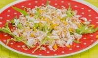 Salade d'araignée mimosa