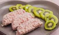 Mousse de jambon aux kiwis