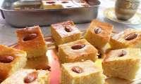 Gâteau de semoule aux amandes