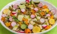 Salade de riz légère