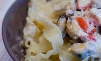 Pâtes aux moules à la crème
