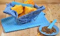 Pain de maïs aux fromages et mélange du trappeur