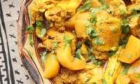 Curry de poulet 'Kalia' aux navets