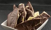 Plaque triple chocolat praliné