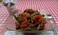 Chili de haricots verts et rouges aux tomates