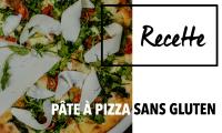 Pâte à Pizza Sans Gluten & Vegan par Glutenoy.com