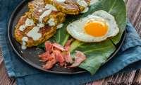 Galette de poireau au bacon