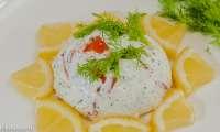 Dômes de truite au yaourt grec et aux herbes