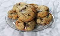 Cookies moelleux, chocolat et chamallow