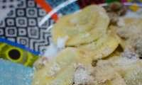 Raviolis, sauce aux noix