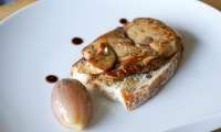 Le foie gras à la plancha