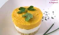 Cheesecakes aux carottes et aux 3 herbes