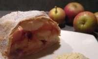 Strüdel pommes et framboises
