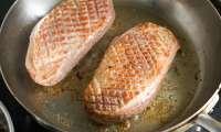 Magret de canard au miel et aux épices