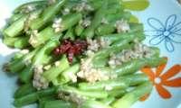 Salade d'haricots verts