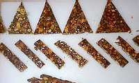 Nougatine au fructose et sirop d'érable