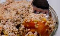 Crumble de carottes au miel et au épices