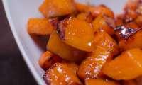 Patates douces caramélisées
