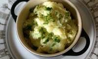 Purée de pommes de terre à l'ail confit