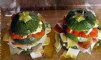 Hamburger de courgettes