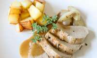 Filet mignon à la sarriette, au thym et au romarin