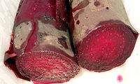 Cuire la betterave rouge au four