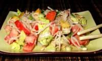 Salade asiatique au sésame