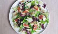 Salade aux figues et cantal