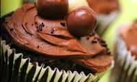 Cupcakes de Pâques au chocolat et caramel