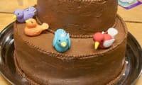Gâteau au chocolat praliné