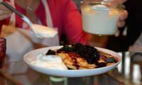 Les pancakes myrtilles de Walter