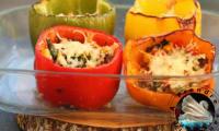 Légumes farcis à la viande hachée au four
