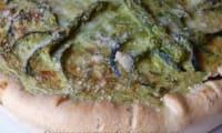 Tarte aux asperges vertes et aux courgettes