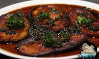 Steaks de jambon au persil