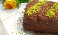 Semifreddo chocolat-pistache d'après Gordon Ramsay